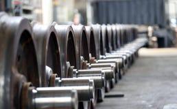 Steel wheels Royalty Free Stock Image