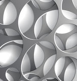 Steel wholes background abstract. Abstract background with 3s steel wholes layer with shadow Stock Photos
