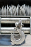 Steel winch Stock Images
