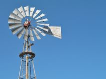 Steel Windmill Stock Images