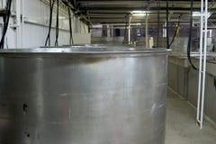 Steel Wine Vat Royalty Free Stock Photo