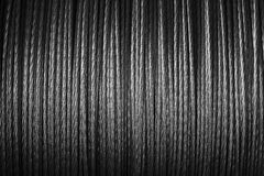 Steel wire. Coiled steel wire closeup gray Royalty Free Stock Photos