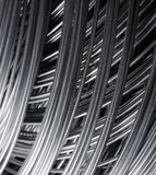 Steel wire Stock Photo
