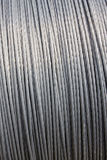 Steel wire cable background Royalty Free Stock Image