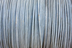 Steel wire cable background stock photo