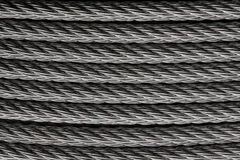 Steel wire or cable Royalty Free Stock Photo