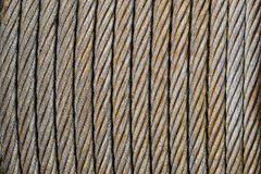Steel wire cable Stock Photo