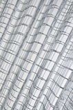 Steel wire grid Royalty Free Stock Photography
