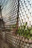 Steel wire mesh fence stock photos