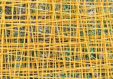 Steel wire mesh Stock Image