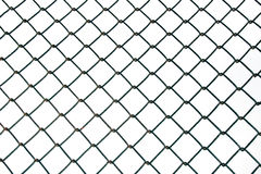 Steel Wire mesh isolate on white background Stock Photos