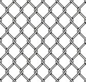 Steel Wire Mesh Seamless Background. Vector Royalty Free Stock Photos