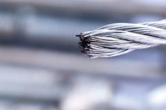 Steel Wire Rope Royalty Free Stock Image