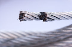 Steel Wire Rope Royalty Free Stock Photos