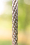 Steel wire rope cable, background Stock Image