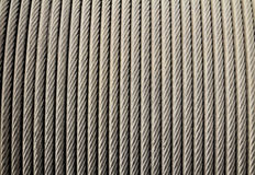 Steel wire rope cable Stock Photography