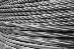 Steel wire rope cable Royalty Free Stock Photo