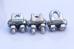 Steel Wire Rope hook Stock Photos