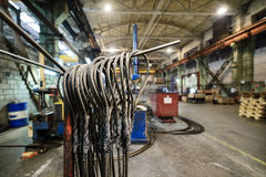 Steel wire rope sling Stock Photography