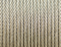 Steel wire rope Stock Photo