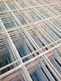 Steel wire. Stacks of steel wire used to reinforce concrete royalty free stock photography