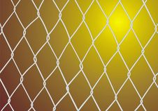Steel wired wall texture Royalty Free Stock Images