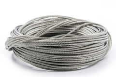 Free Steel Wires On White Background Royalty Free Stock Images - 39759879