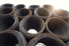 Steel wires Royalty Free Stock Photos