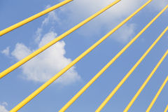 Steel wires Stock Photography