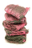 Steel wool abrasive soap pads Stock Photos