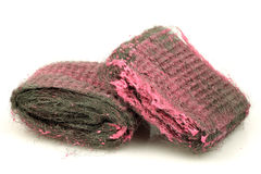 Steel wool abrasive soap pads Stock Photo