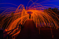 Steel Wool Royalty Free Stock Photos