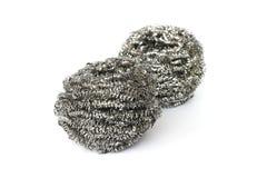Steel wool - dishwasher Stock Images