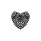 Steel Wool Heart Royalty Free Stock Photo