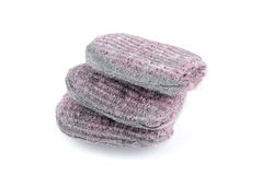 Steel wool soap pad Stock Image