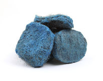 Steel wool soap pads Royalty Free Stock Photo