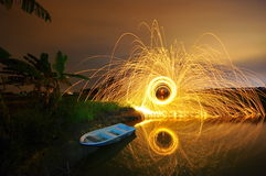 Steel wool stock photo awesome reclection Stock Images