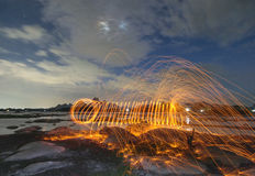 Steel wool stock photo Stock Photo