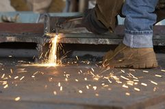 Steel work Stock Photography