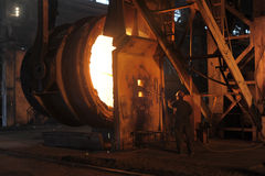 A steel worker Royalty Free Stock Photos