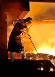 Steel worker Stock Images