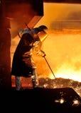 Steel worker Stock Images