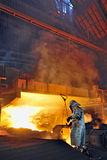 Steel worker Royalty Free Stock Images