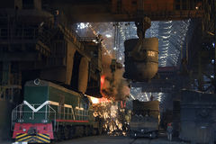 Steel works royalty free stock photos