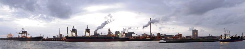 Steel works Stock Image
