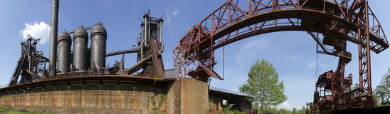Steel Works Stock Photos