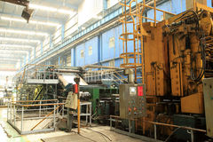 Steel workshop Royalty Free Stock Images
