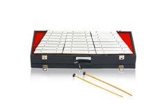 Steel xylophone Stock Image