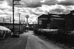 The Steel yard at Braddock. Steel yard at Braddock, Pennsylvania Stock Photos