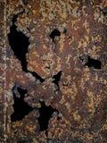 Steel zinc rust background Stock Photos